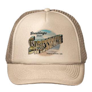 Saludos agotadores gorras de camionero