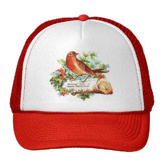 Saludos alegres del navidad gorras de camionero