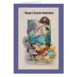 Saludos calurosos de Pascua - tarjeta