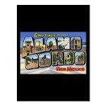 Saludos de Álamo Gordo New México Postal