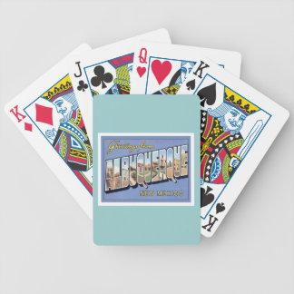 Saludos de Albuquerque New México Baraja Cartas De Poker