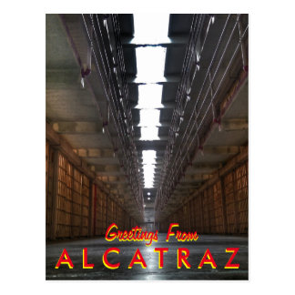 Saludos de Alcatraz Postales