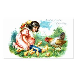 Saludos de amor de Pascua Tarjetas De Visita