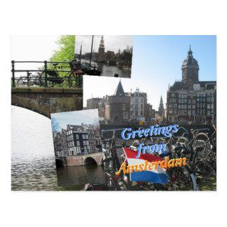 Saludos de Amsterdam Postales