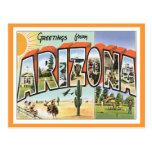 Saludos de Arizona Tarjetas Postales