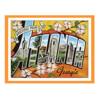 Saludos de Atlanta Postal