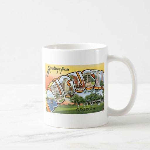 Saludos de Augusta, Georgia Taza