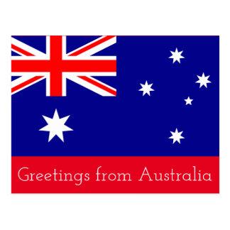 Saludos de Australia -- postal