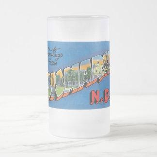 ¡Saludos de Bismarck, Dakota del Norte! Taza De Cristal