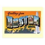 Saludos de Boston, masa Tarjetas Postales