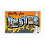 ¡Saludos de Boston! Postales