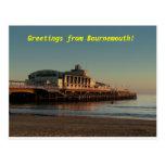 ¡Saludos de Bournemouth! Postal