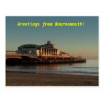 ¡Saludos de Bournemouth! Postales