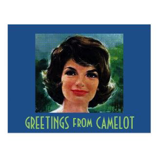 SALUDOS de CAMELOT Tarjetas Postales