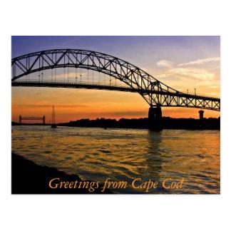 Saludos de Cape Cod Postales