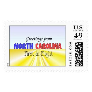 Saludos de Carolina del Norte Envio