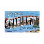 Saludos de Charleston, SC Postal