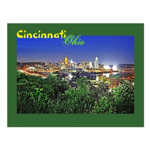 ¡Saludos de Cincinnati, Ohio! Postales
