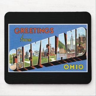 ¡Saludos de Cleveland, Ohio! Mouse Pads