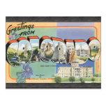Saludos de Colorado, vintage Postales