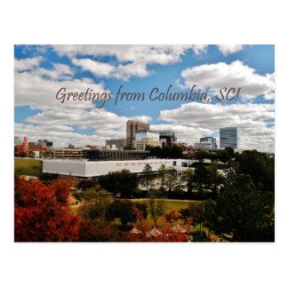 Saludos de Columbia, SC Postal
