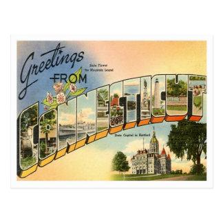 Saludos de Connecticut Postal