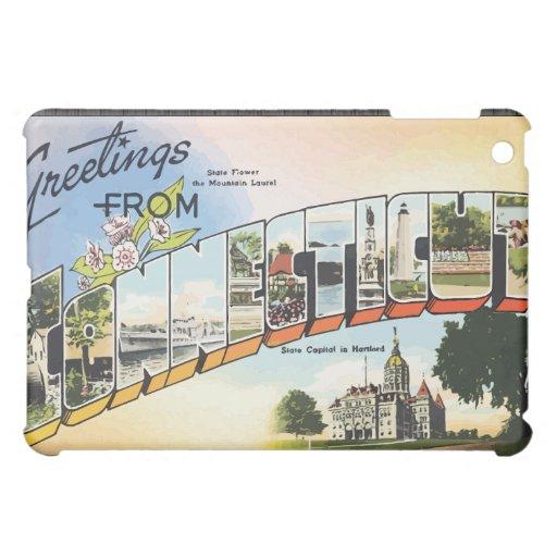 Saludos de Connecticut, vintage