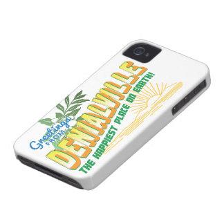Saludos de Denialville - el lugar más feliz iPhone 4 Carcasa