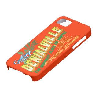 Saludos de Denialville - el lugar más feliz iPhone 5 Funda