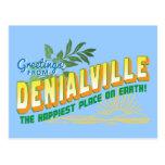 Saludos de Denialville - negación Postal
