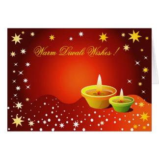 Saludos de Diwali Tarjeta De Felicitación