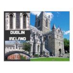 Saludos de Dublín, Irlanda Postal