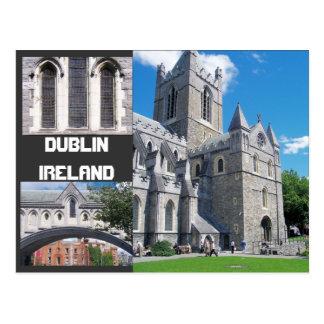 Saludos de Dublín Irlanda Postal