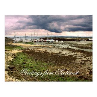 Saludos de Escocia, Aberdour Tarjetas Postales