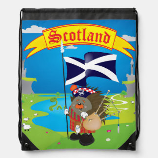 Saludos de Escocia Mochila