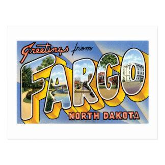 ¡Saludos de Fargo, Dakota del Norte! Postales