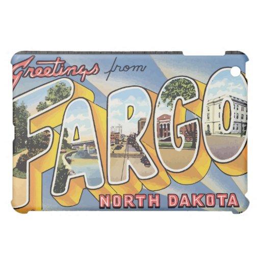 Saludos de Fargo Dakota del Norte, vintage