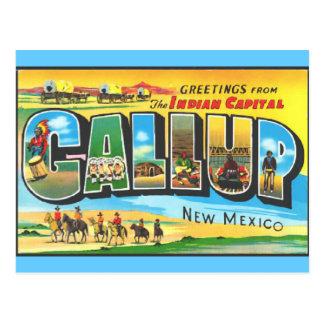 Saludos de Gallup Postal