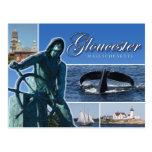 Saludos de Gloucester, mA Tarjetas Postales
