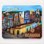Saludos de Granada Nicaragua Alfombrillas De Ratón
