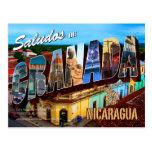 Saludos de Granada, Nicaragua Tarjetas Postales