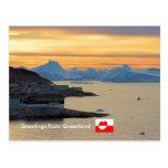 Saludos de Groenlandia 21 Postal