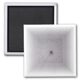 Saludos de Halloween del hilo de araña Imanes Para Frigoríficos