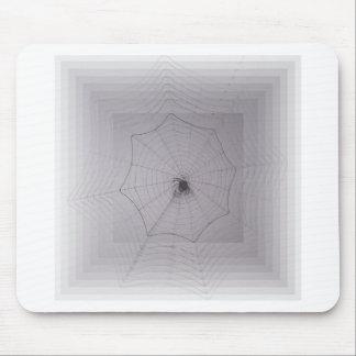Saludos de Halloween del hilo de araña Alfombrilla De Ratones