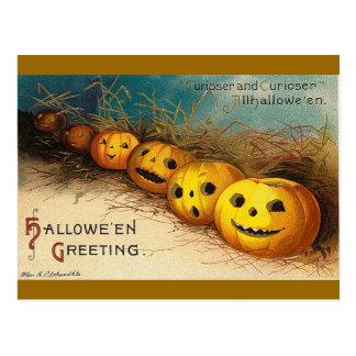 Saludos de Halloween Postales