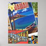 Saludos de Hawaii Posters