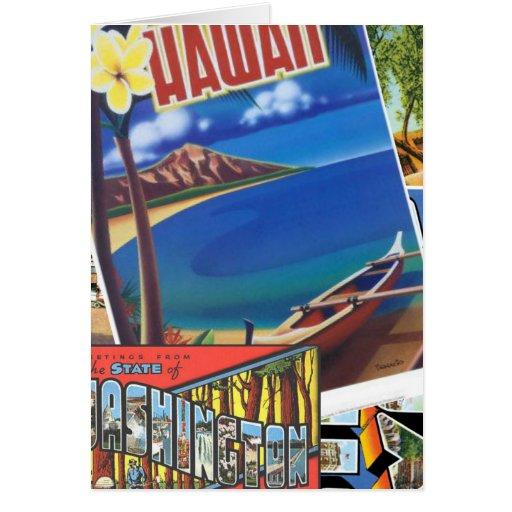 Saludos de Hawaii Tarjeta