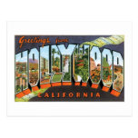 ¡Saludos de Hollywood! Postal