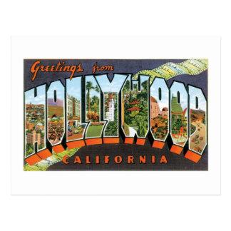 ¡Saludos de Hollywood! Postales