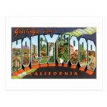 ¡Saludos de Hollywood! Tarjeta Postal